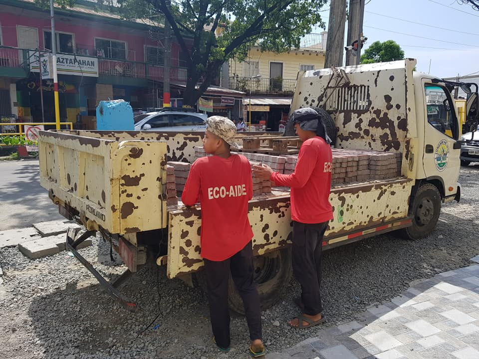 City of Imus in partnership with CENRO donates 1,000 Eco Bricks