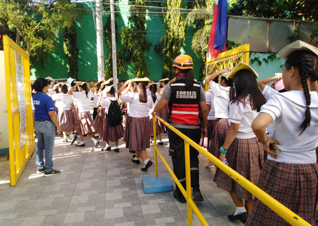 Earthquake Drill with CDRRMO