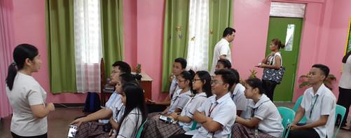 BKD Orientation with Mrs. Claveria