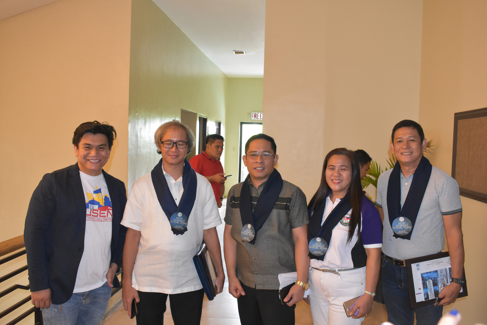 SDO Officials with Mr. Abram Y.C Abanil, ICTS Director of DepEd