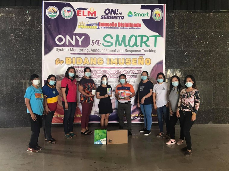 Delivery of Raffle Items from Smart Communications, Inc.