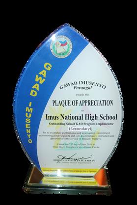 Oustanding GAD Program Implementer