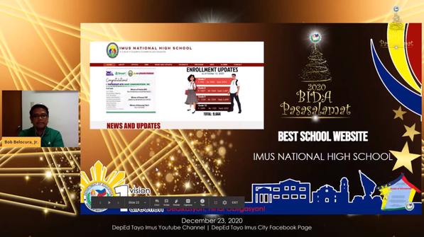 Best School Website in Secondary Level.p