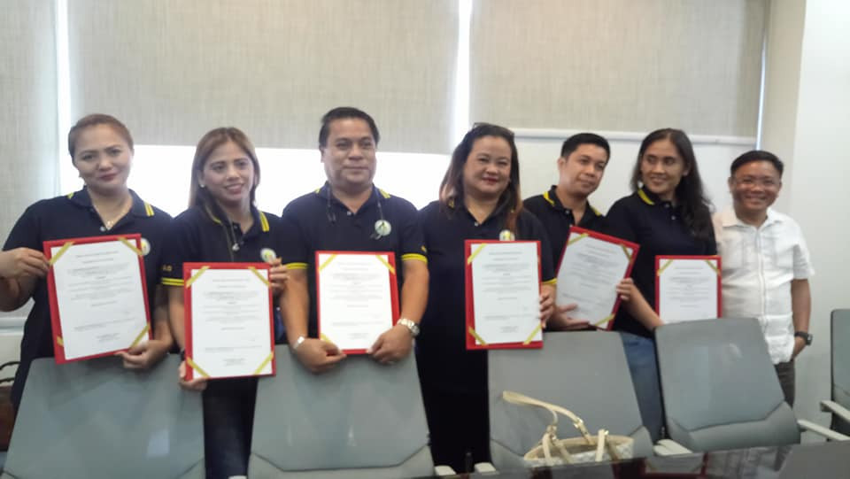 INHS General Parents-Teachers Association Oath taking Ceremony 29 July 2019 @ Mayors' Office Conference Room with Hon. Emmanuel L. Maliksi, City Mayor
