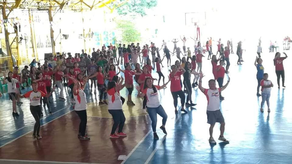 Proud Imuseño Disiplinado Family Day. Wellness Zumba Marathon last August 17, 2019