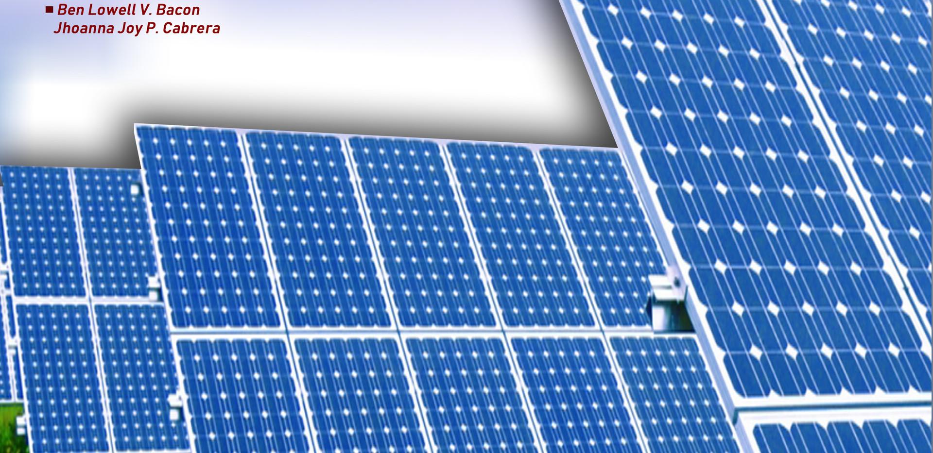 Legacy Project: Solar Panels