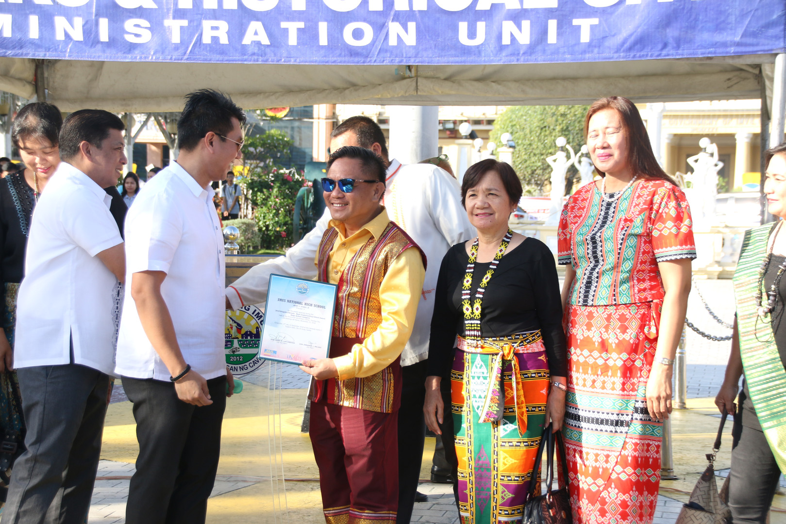 Awarding Ceremony at Imus Plaza