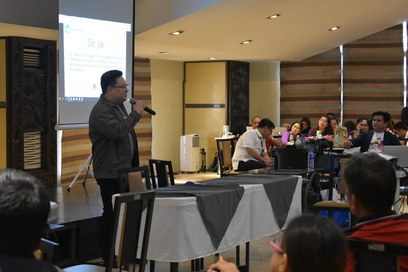 Mr. Adrian C. Cruz, and Educational Technology Specialist