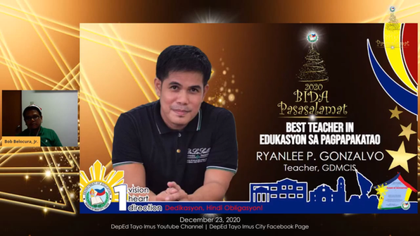 Best Teacher in Edukasyon sa Pagpapakata