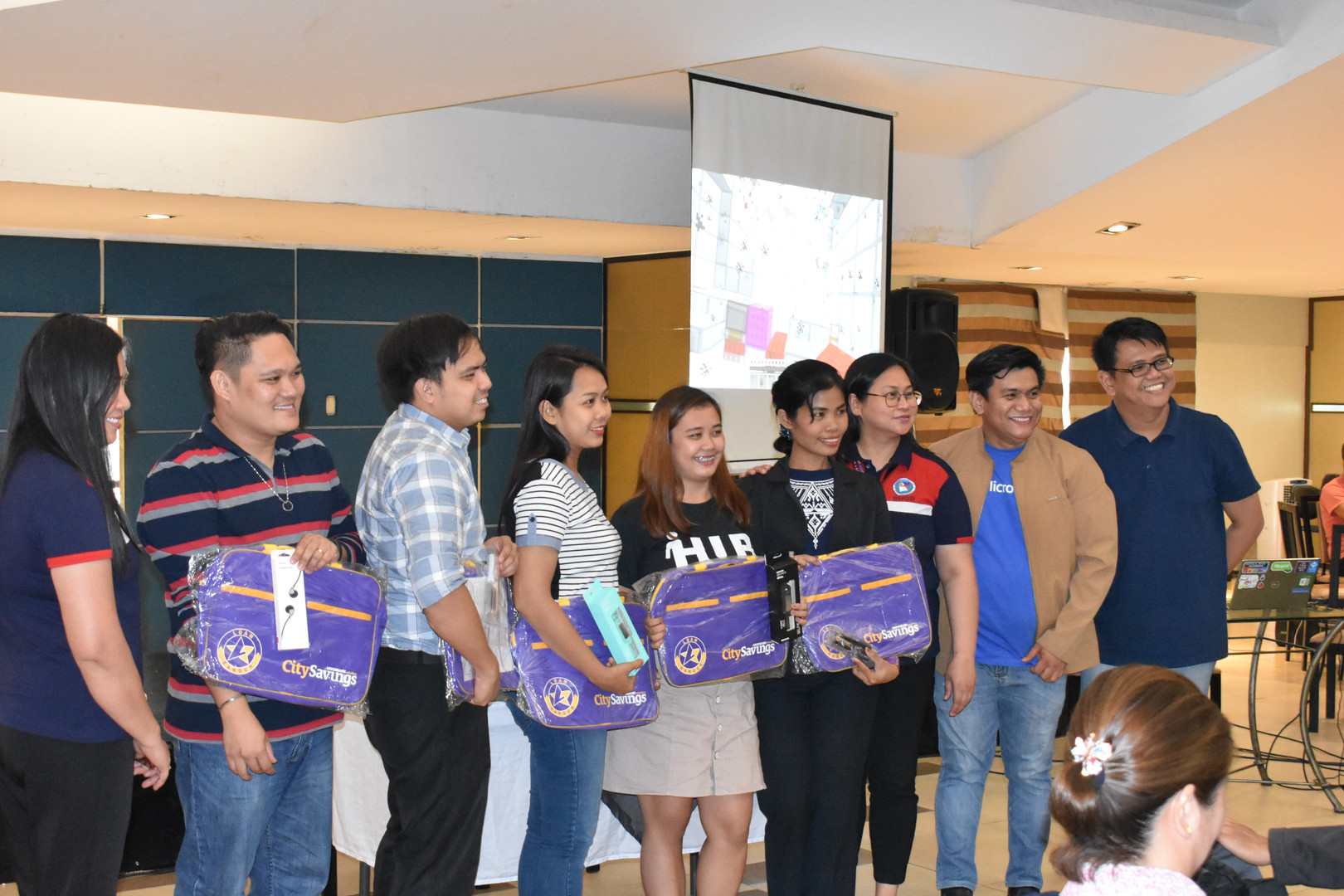 Awarding of Top 5 Partipants who answers the Day 1 Evaluation Form in a quick and comprehensive way