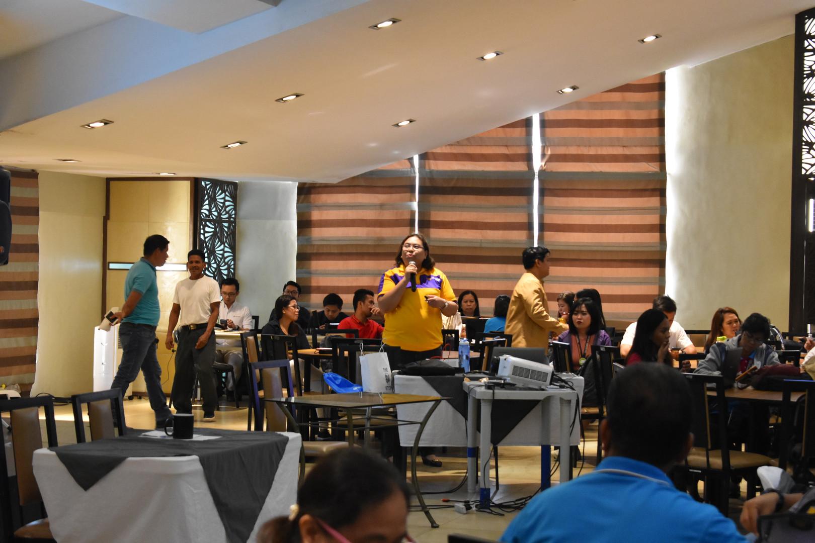 Ms. Marissa Tagado, Business Head of Region IV – A of City Savings Bank