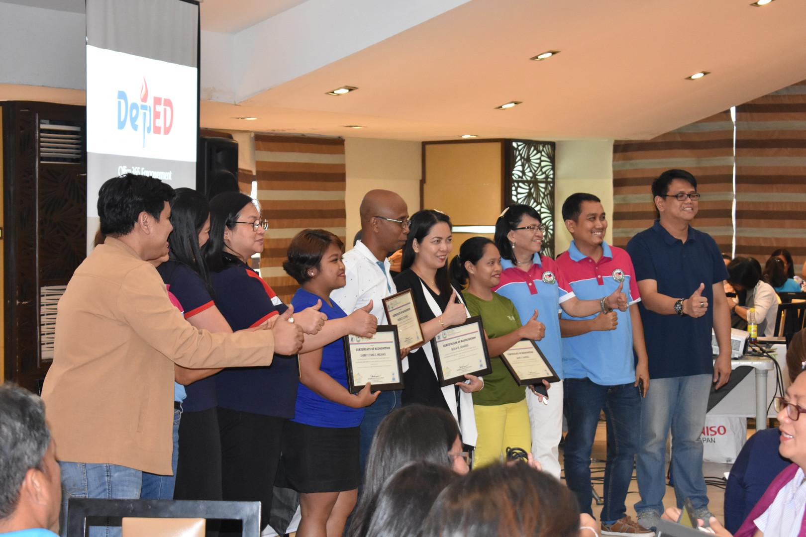DLSU D Faculty and SDO Officials