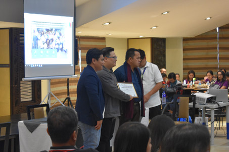SDO Officials and Mr. Adrian C. Cruz, and Educational Technology Specialist