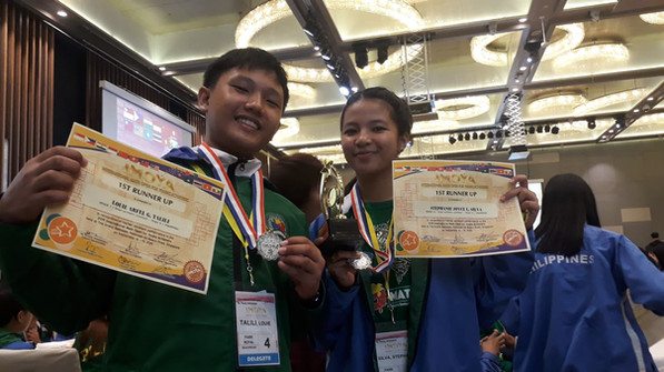 2019 International Mathematics Open for Young Achievers - Singapore