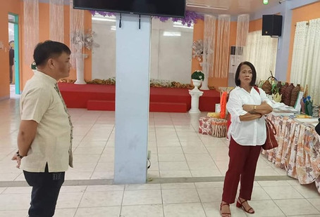 Site visitation from Regional Office, Dr. Agnes Rolle @ Proud Imuseño Disiplinado for National DRRM Benchmarking on 29 August 2019