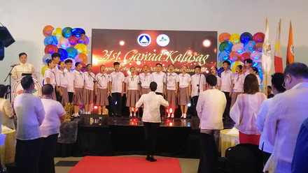 Teatro Imuseño during 21st Gawad Kalasag Awarding Ceremony