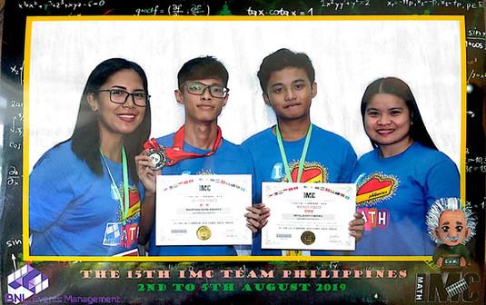 15th International Mathematics Competition Singapore