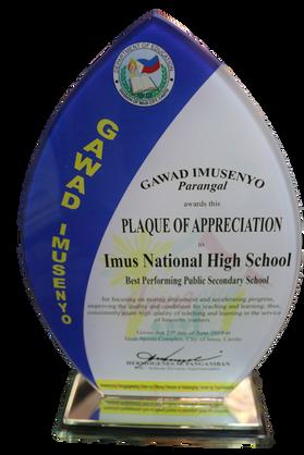 Best Performing Secondary Public School.