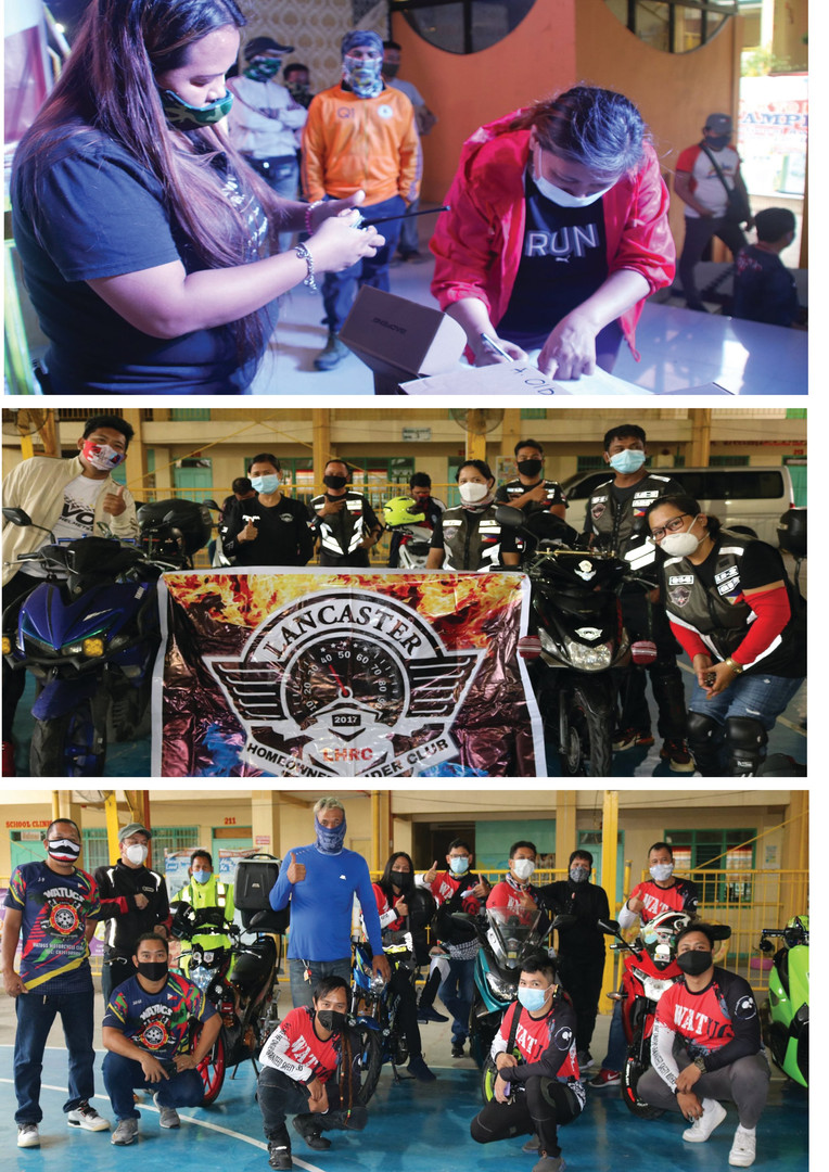 SDO Imus City Partners with LGU , Private Riders for Continuity of Learning, Riders take Oath of Office