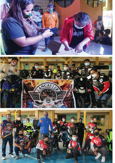 SDO Imus City Partners with LGU , Private Riders for Continuity of Learning,Riders take Oath of Office
