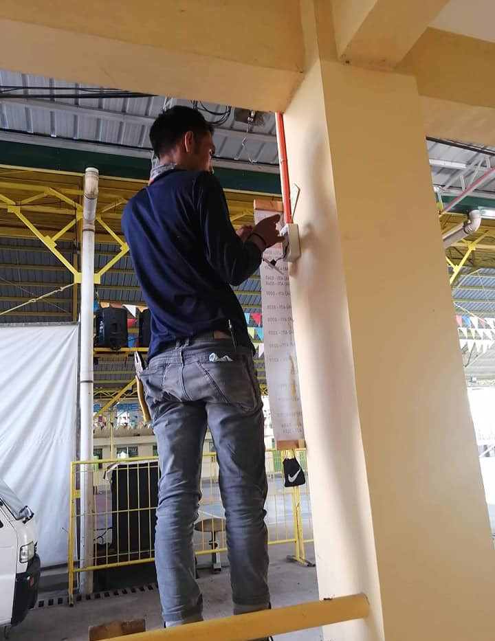 Rewiring Installation for Meralco K-Ligtas: Electrical Safety