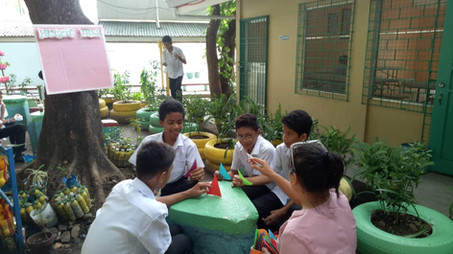 Counselling under the Tree with Mrs. Dumaguing