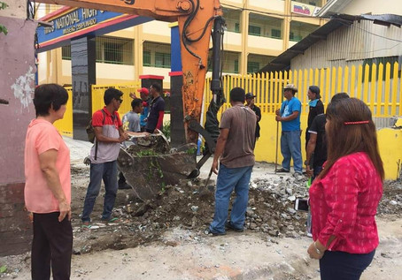 City Government of Imus CLEARING OPERATION @ Bucandala. Demolition of Pavements and Road Obstruction last 23 August 2019