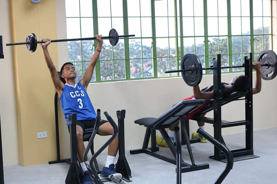 INHS Varsity Playes utilizing Gym at 4th Flr. GAD Building