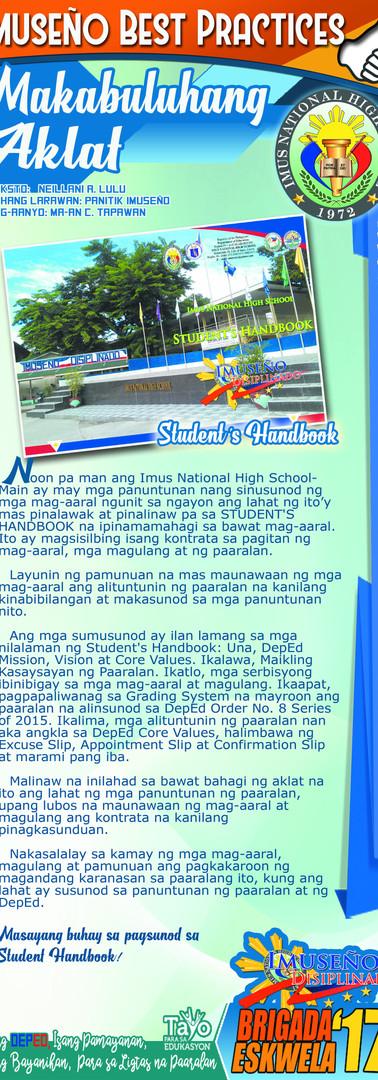 Student's Handbook