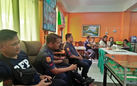 PNP, BFP, CDRRMO, DSWD, CITY ENGINEERING, BARANGAY, OSPITAL NG IMUS, INHS, and STAKEHOLDERS last  August 01, 2019