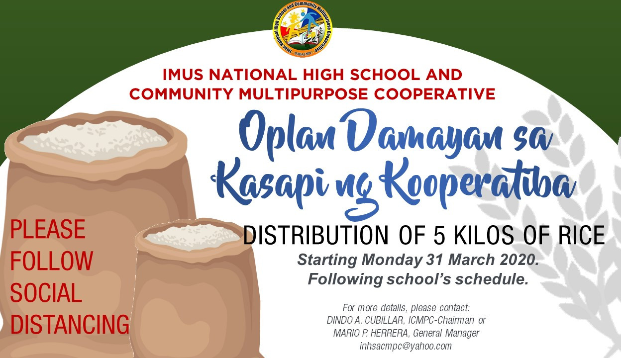 Oplan Damayan sa Kasapi ng Kooperatiba