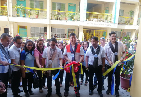 Blessing of New Four-Storey Building