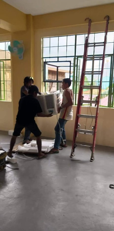 Installation of Aircon