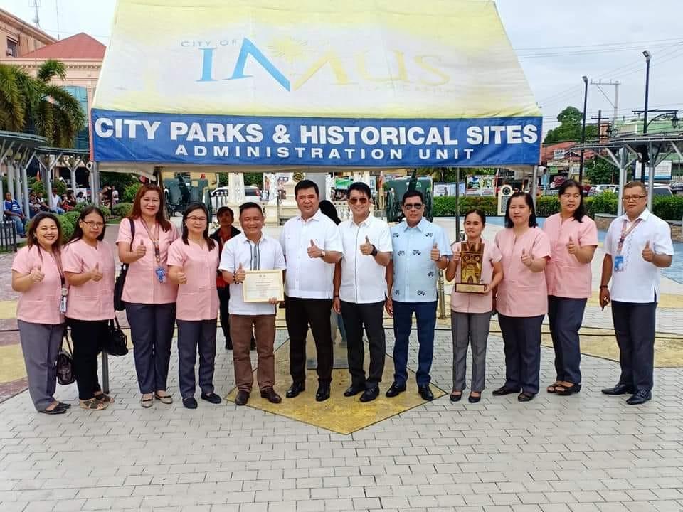 INHS 21st Gawad Kalasag Regional Winner with LGU