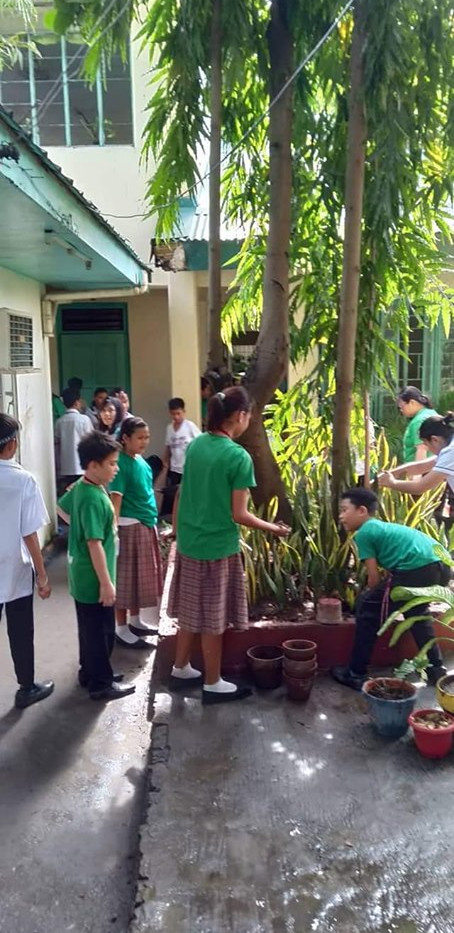 Yes-O Officers Clean Up Drive
