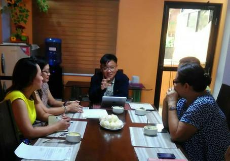 Meeting with La Terraza Subdivision Board of Directors last July 18, 2019