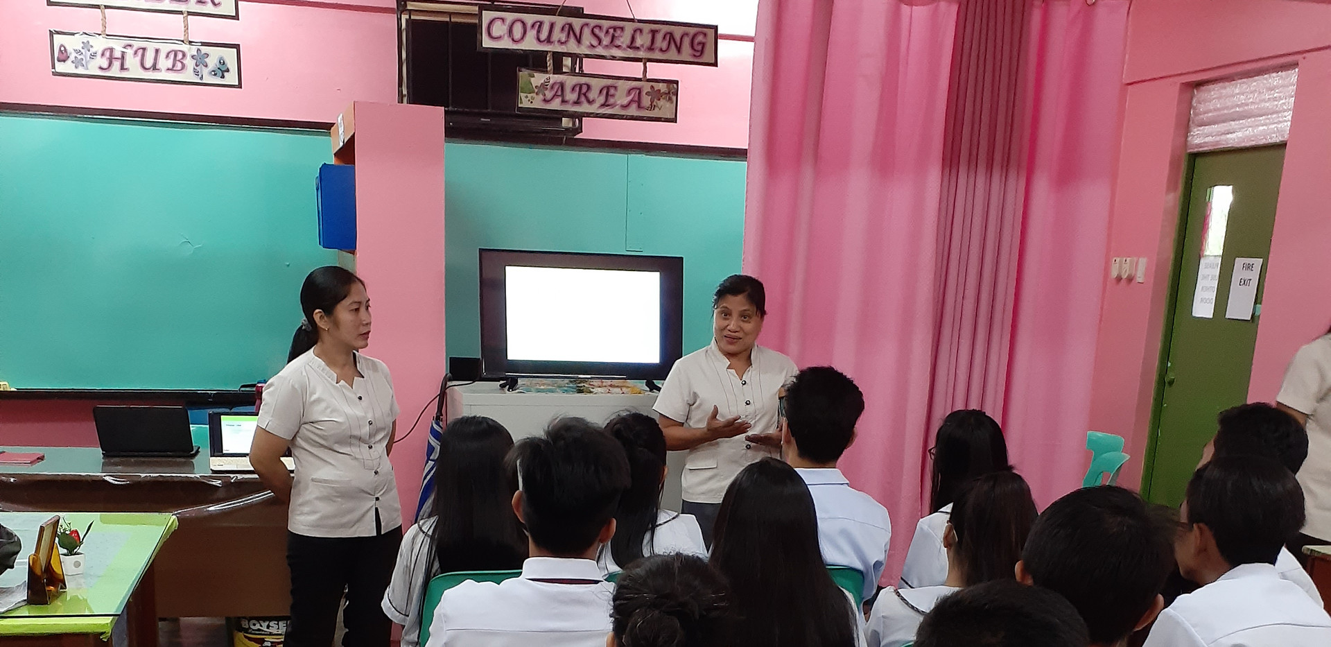 BKD Orientation with Mrs. Dumaguing and Mrs. Claveria