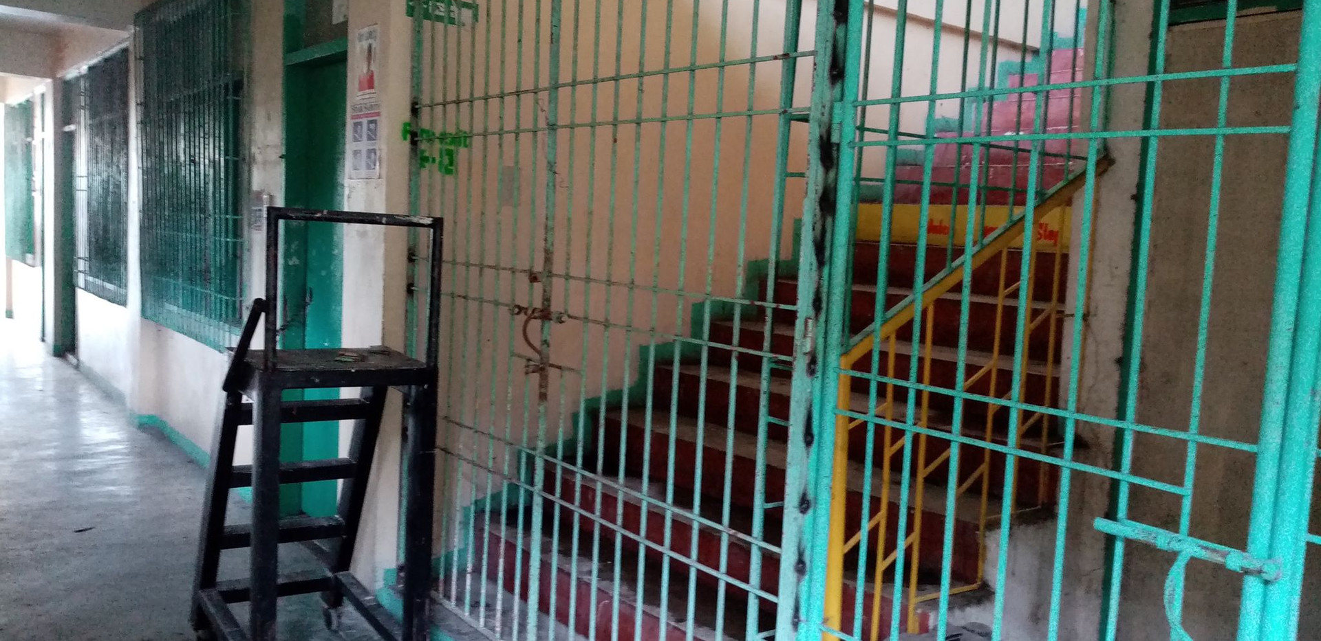 Repairing of Gate of Saquilayan Building
