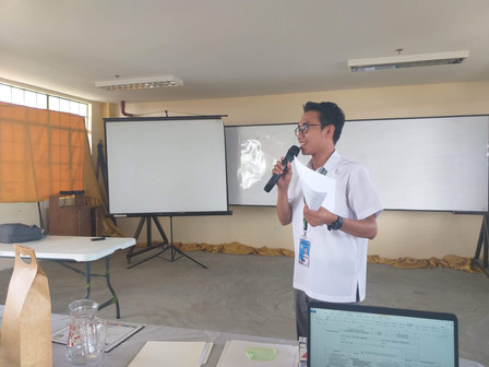 Mr. Galestre during his Opening Remarks