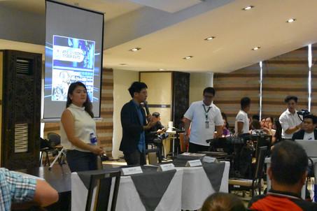 Ms. Clarissa Segismundo and Mr. Jomar De Leon, Microsoft