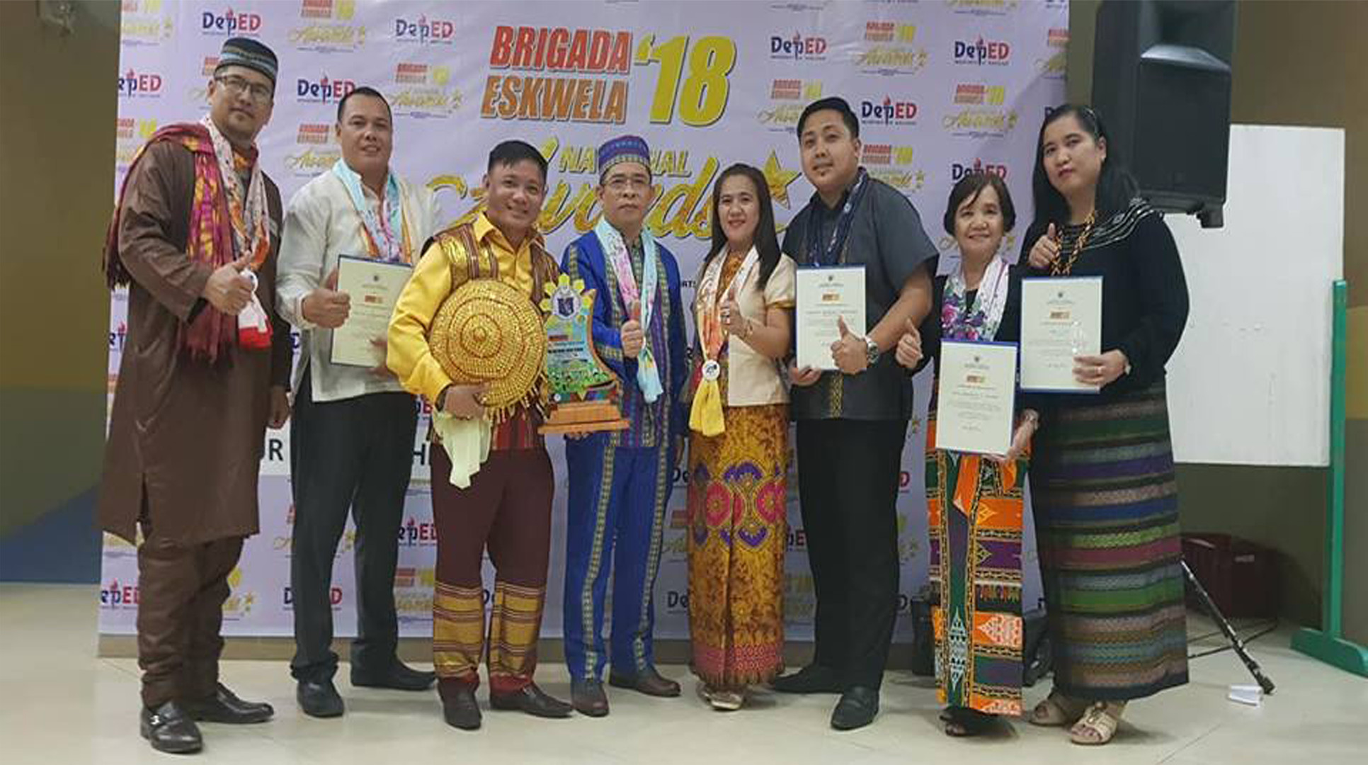 Awarding Ceremony at Dipolog City, Zamboanga del Norte