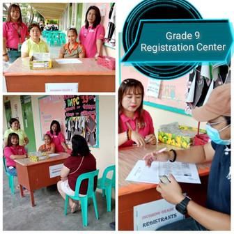 Grade 9 Early Registration