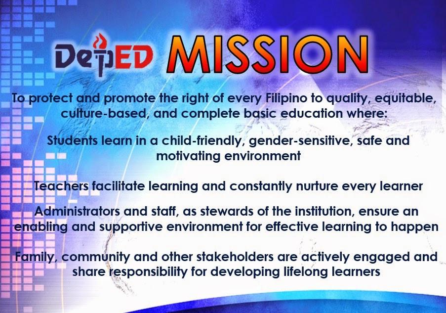 DEpED Mission