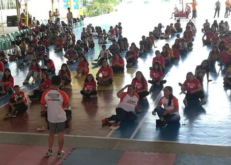 Proud Imuseño Disiplinado Family Day. Wellness Zumba Marathon last August 17, 2019