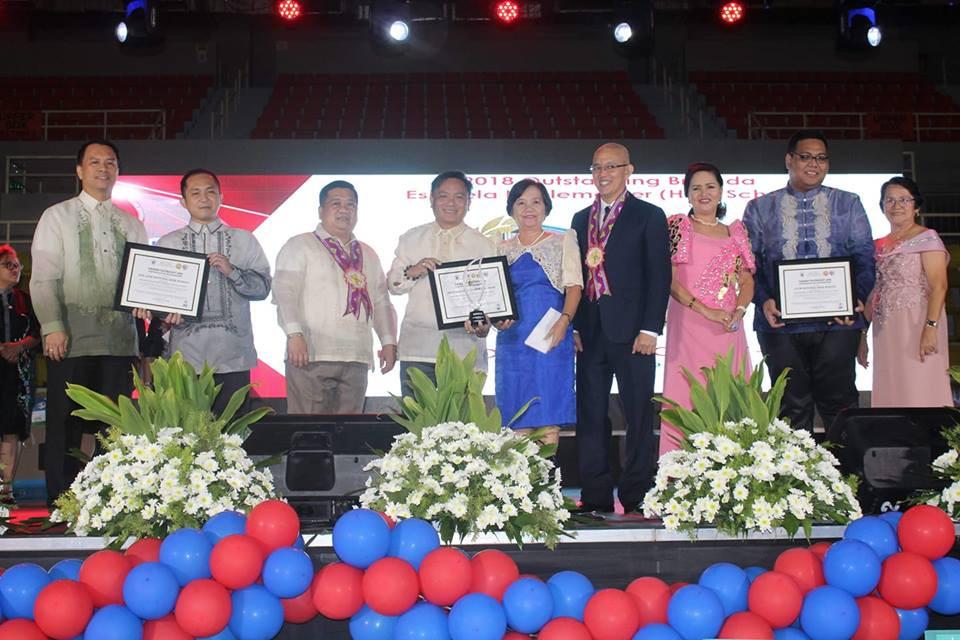 Awarding with Dr. San Antonio
