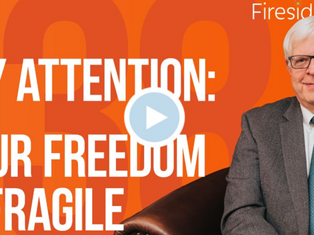 Your Freedom is Fragile