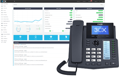 3CX-VoIP-System