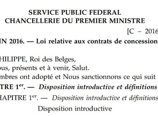 La loi relative aux contrats de concession est publiée