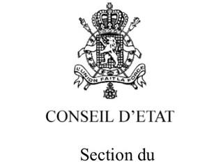Contentieux de pleine juridiction devant le Conseil d'Etat - Un arrêté royal précise la procédur