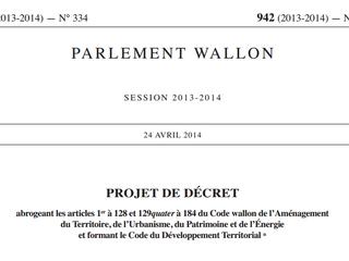 Code du Développement territorial et prescription des infractions